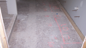 Consider the many benefits the simple installation of a disposable floor protection product provides. As soon as the deck surface is complete or the concrete is cured, cover the entire surface with a KleenWrap disposable floor protection product. Build ex