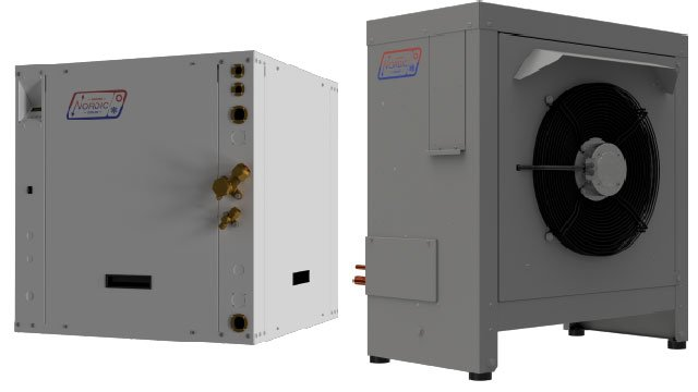 New heat pump designed for harsh northern winters