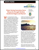 Water Saving Innovation Saves Money for Drought Stricken Southwest Region and Beyond