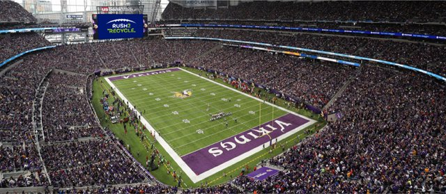 Environment scores big with zero-waste project at Super Bowl LII