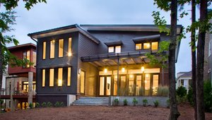 Case Study: Proud Green Home at Serenbe HVAC strategy
