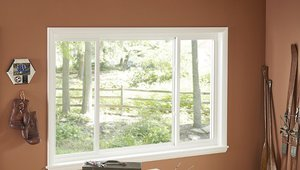 Vinyl Single Slider Window Meets Energy Star Requirements