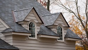 Engineered slate roofing is a cost effective option that offers durability and natural appearance