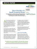 Three Benefits of a Small-Footprint Home