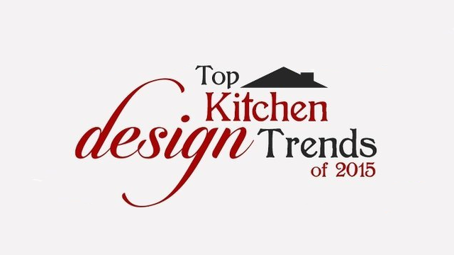 Graphic: top kitchen design trends for 2015