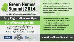 Early registration opens for Green Homes Summit 2014