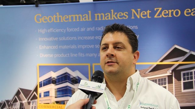 Geothermal heat pumps gaining ground on efficiency