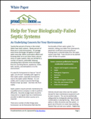 Help for Your Biologically-Failed Septic Systems