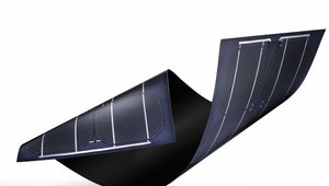Flexible Solar Roof Tiles Wrap Around Curves