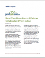 Boost Your Home Energy Efficiency with Insulated Vinyl Siding
