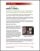 Retirees Use Geothermal to Reduce Utility Bills in Their Energy-Efficient Central Wisconsin Home