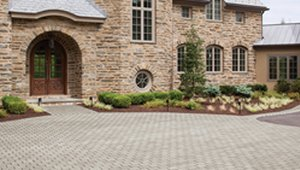 Permeable Pavers Manage Water Runoff