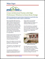 Create Architectural Variety with High-Performance Windows in Green Home Design