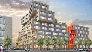Plans unveiled for green-roofed business district in Munich