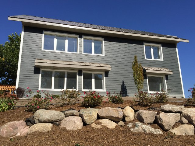System Built Home Is Aiming For Passive House