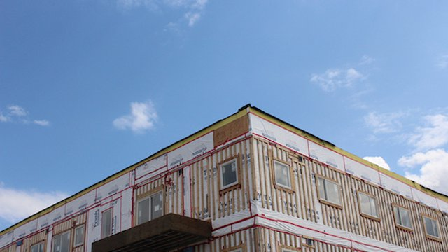 Edmonton unveils first apartment building made of shipping containers