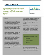 Update your home for energy efficiency and style