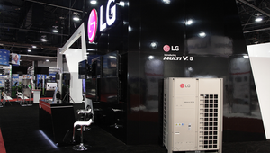 LG solutions helping building improve IAQ