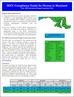 IECC Compliance Guide For Homes Maryland