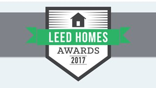 2017's LEED-ing sustainable homes recognized