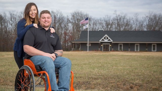 Disabled Vet Moves into New Smart Home