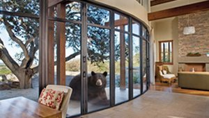 Hurricanes, Forest Fires & Bears, Oh My! Nanawall launches bear-proof folding glass wall