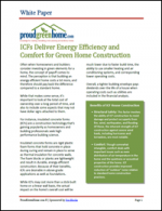 Insulated Concrete Forms (ICFs) Deliver Energy Efficiency and Comfort for Green Home Construction