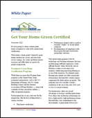 Get Your Home Green Certified