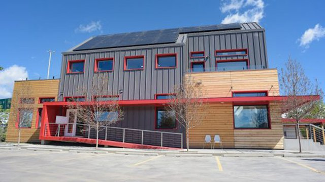 SAIT shows off Calgary's first net-zero commercial building