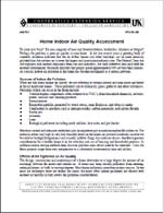 Home Indoor Air Quality Assessment