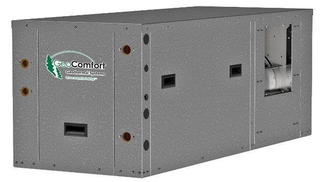 New Compact Horizontal Packaged Geothermal System Fits Small Footprint Locations