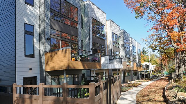 Two Eco Friendly Multifamily Developments Rise in Cleveland