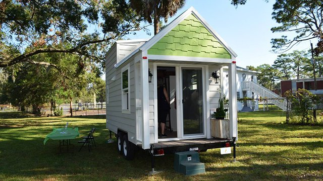 LEEDing Tiny house joins green buzz