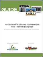Residential Walls and Foundations: Improving the Thermal Envelope