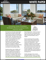 Innovative Home Ventilation Strategies Reduce Cooling Costs, Improve Health