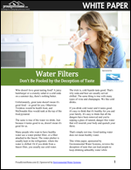 Water Filters: Don't Be Fooled by the Deception of Taste