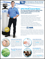 EWS Home Spectrum Series | Central Whole House Water Filtration