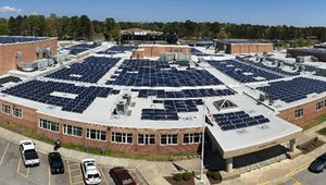 Va. high school home to state's largest solar rooftop array