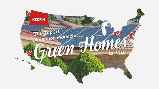 Does your neighborhood rank in the top 10 list for green homes?