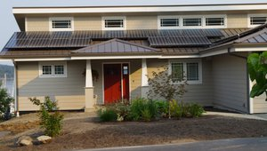 Clifton View Homes built this 1,784-square-foot zero energy home in Port Hadlock, Washington, to the performance criteria of the U.S. Department of Energy Zero Energy Ready Home (ZERH) program.